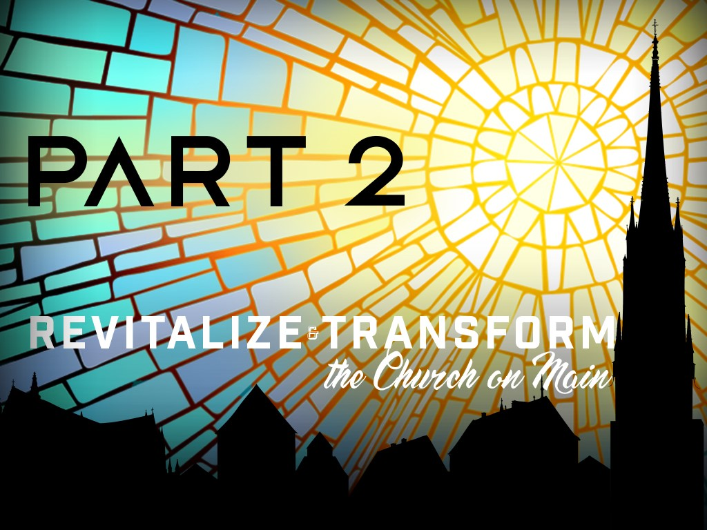 Revitalize - Transform pt 2